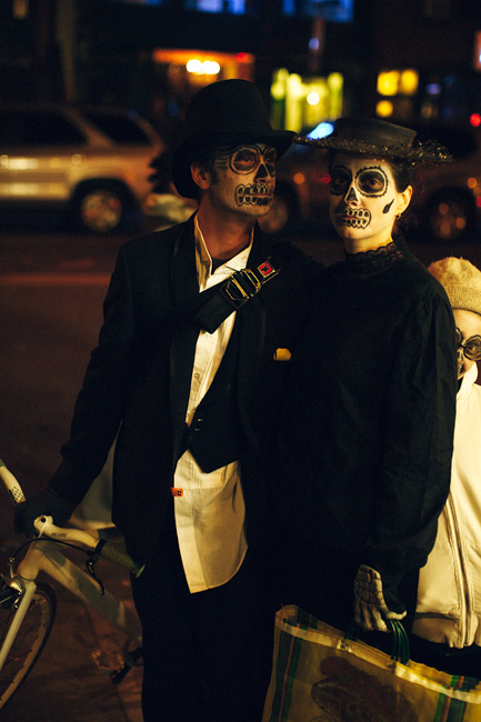 Halloween in Park Slope, Brooklyn, photo by Tom Spianti