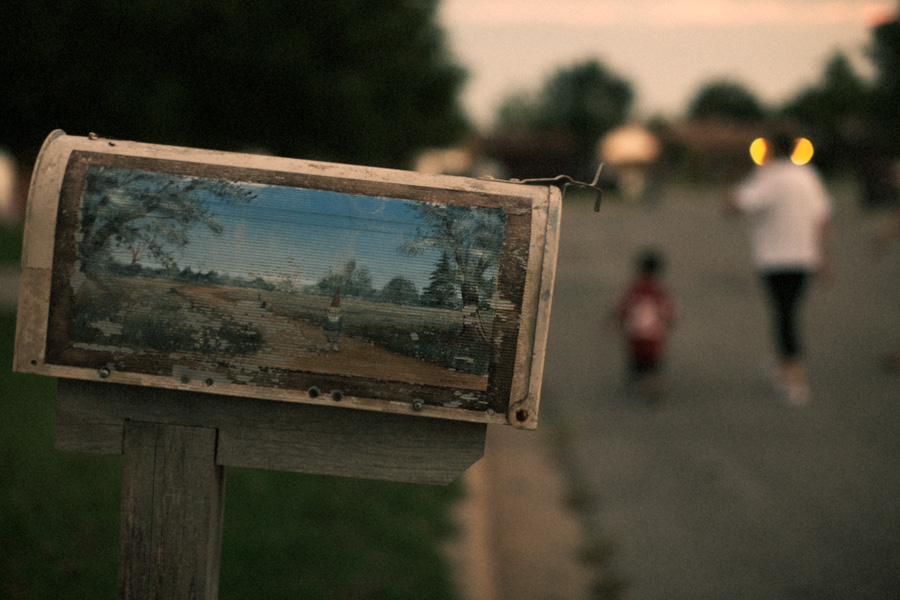 American dwarf's mailbox, photo by Tom Spianti