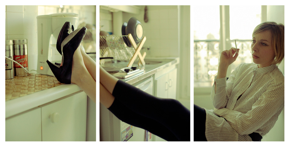 Angelica - Kitchen Triptych by Tom Spianti