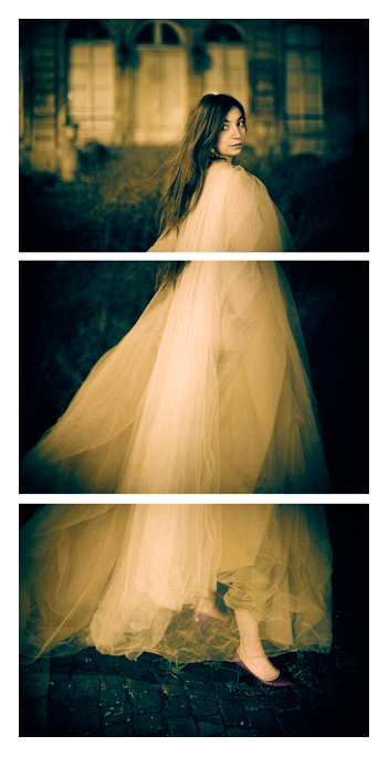Ava - Gown Triptych by Tom Spianti