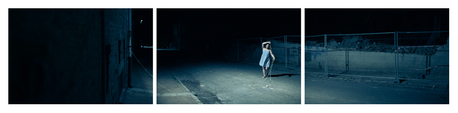 Camille - Night danse triptych by Tom Spianti