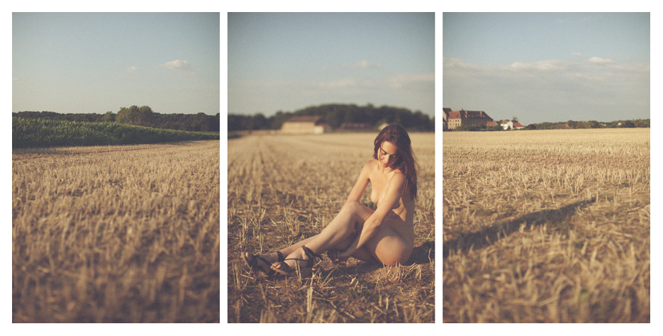 Jennifer - jennifer's world triptych by Tom Spianti