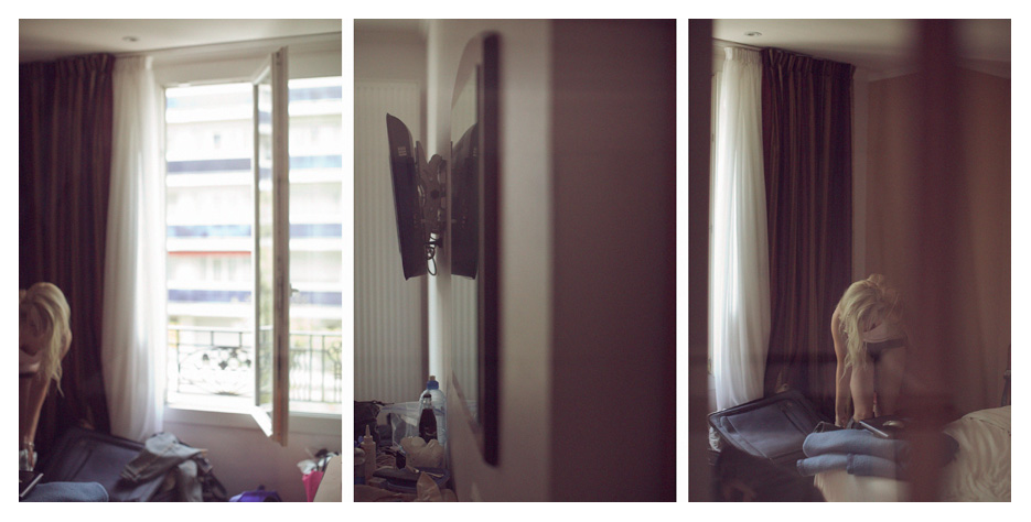 Juelles - hotel's room triptych by Tom Spianti